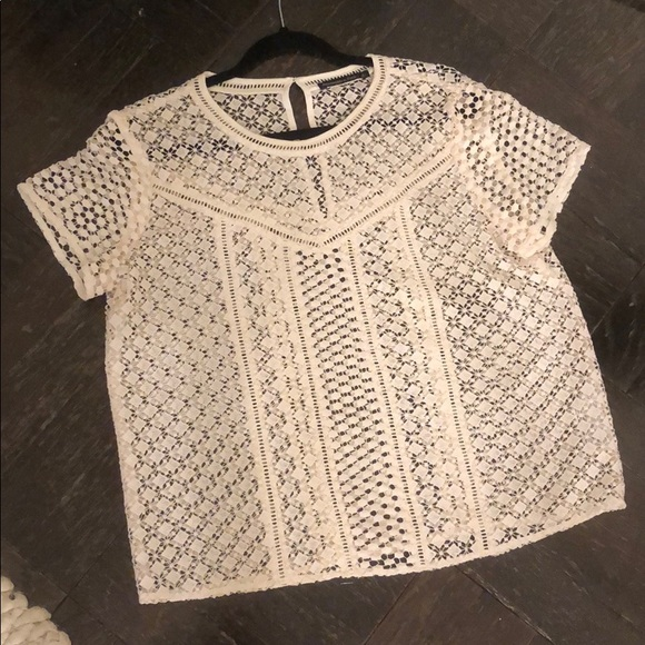 Abercrombie & Fitch Tops - Abercrombie Lace Shirt